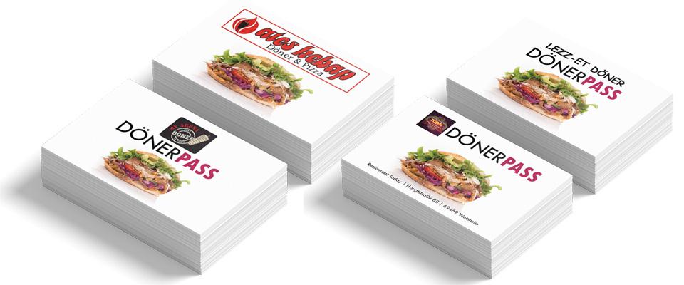 Individuelle Kebap Bonuskarten